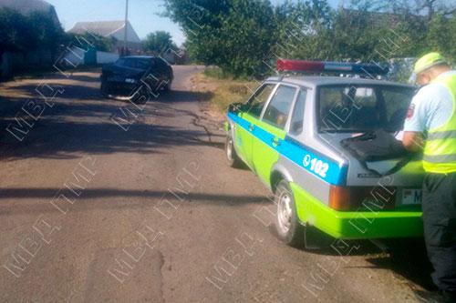 В Григориополе два автомобиля столкнулись лоб в лоб: один человек пострадал