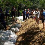 ГИЧС продолжает превентивные мероприятия по защите от наводнений
