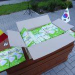 Корея передала Молдове 200 тысяч защитных масок