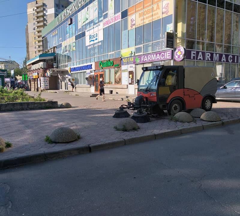 На Ботанике очистили от торговых рядов одну из улиц