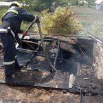 Пожар в Гагаузии: вспыхнул сарай с дровами (ФОТО)
