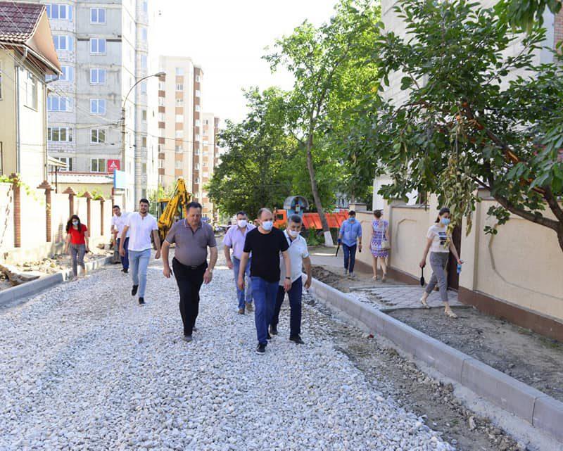 Чебан: ещё одна столичная улица приобретает новый облик (ФОТО)