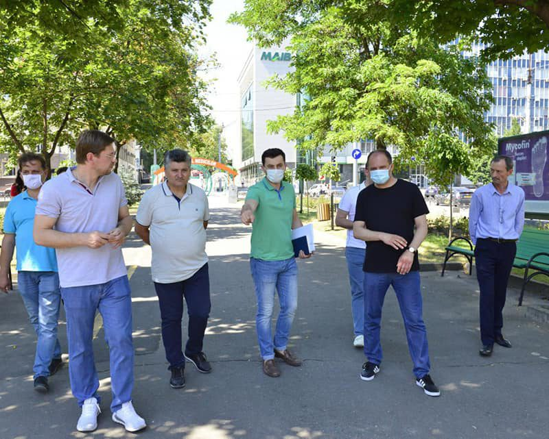 Аллея на бульваре Григория Виеру будет отремонтирована (ФОТО)