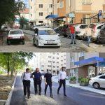 На улице Данте Алигьери начали укладывать асфальт: Чебан проинспектировал ремонтные работы (ФОТО)