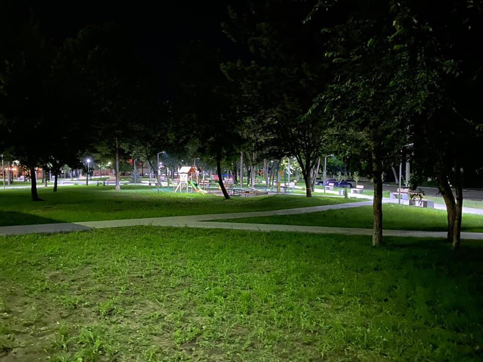 Сегодня состоится официальное открытие обновленного сквера на улице Букурией (ФОТО)