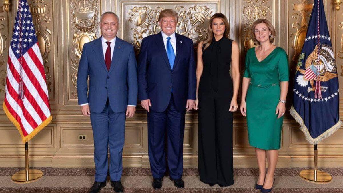 Додон поздравил Трампа с Днем независимости США