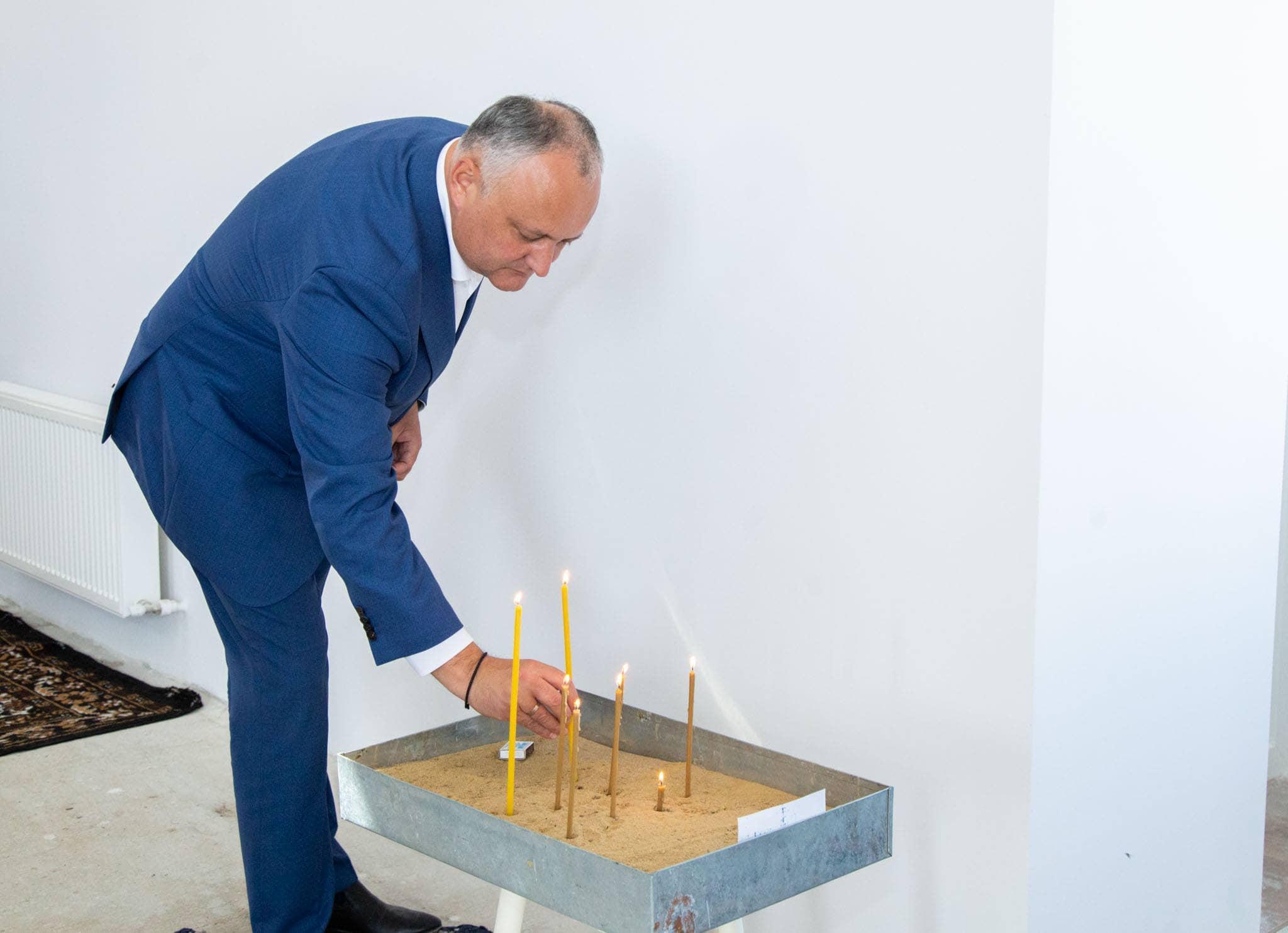 Президент помолился за мир в нашей стране и благополучие народа (ФОТО, ВИДЕО)