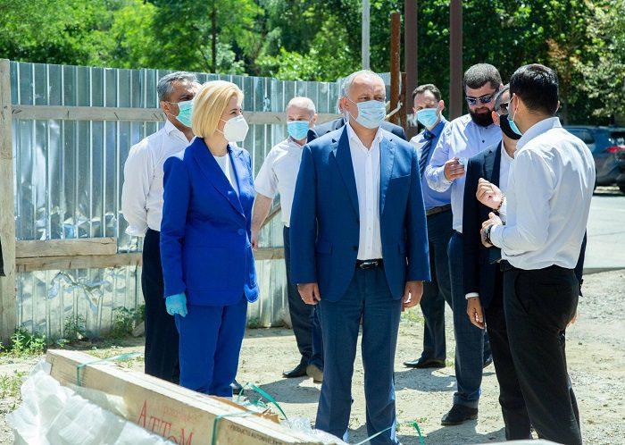 Президент проинспектировал строящийся в Чадыр-Лунге при содействии Фонда Алиева Культурно-образовательный центр (ФОТО, ВИДЕО)