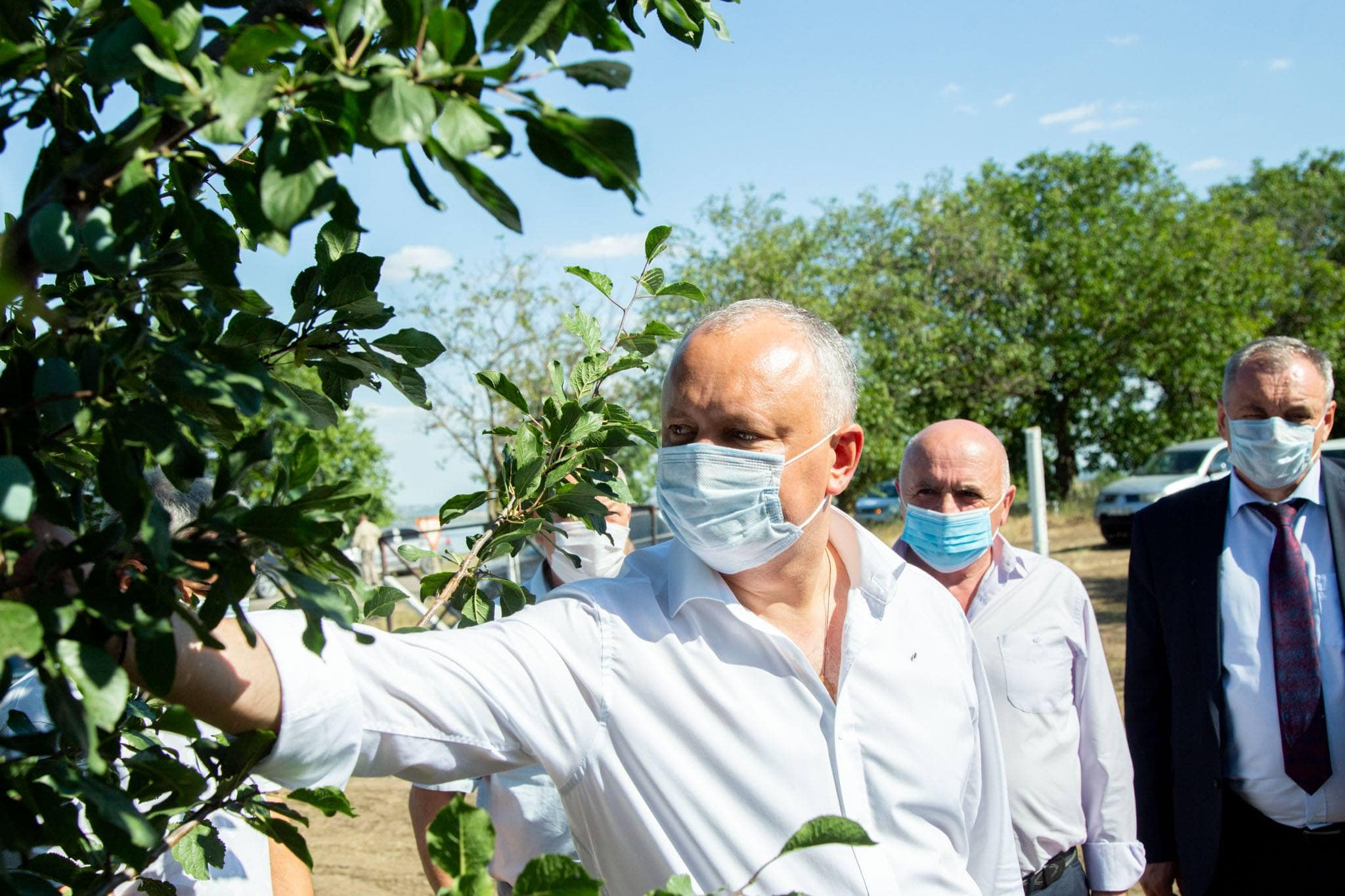 Глава государства поблагодарил аграриев за усердный труд (ФОТО, ВИДЕО)