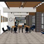 Капитальный ремонт библиотеки Ломоносова идёт полным ходом (ФОТО)