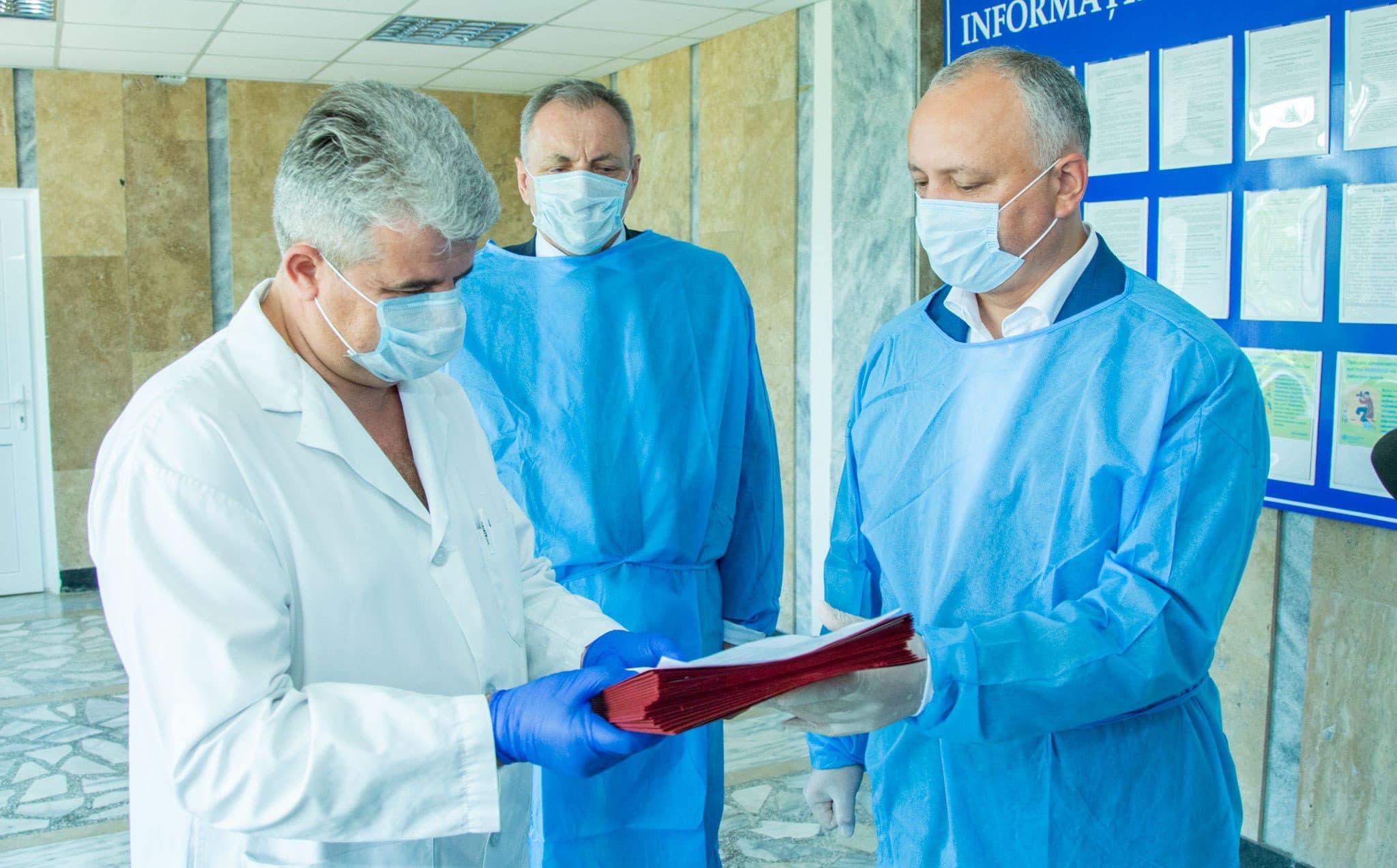 Лучшие работники районной больницы Тараклии получат почетные дипломы президента (ФОТО, ВИДЕО)