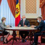 Совещание руководства страны: какие темы обсудили президент, премьер и спикер (ФОТО, ВИДЕО)