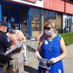 ГИЧС продолжает кампанию по борьбе с коронавирусом (ФОТО, ВИДЕО)