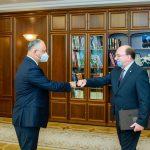 Глава государства провел встречу с послом России (ФОТО, ВИДЕО)