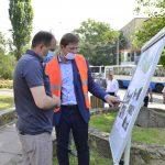 Стартовал ремонт сквера на улице Киевской (ФОТО)