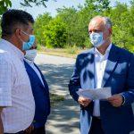 Президент пообещал жителям Ивановки помочь с ремонтом дороги и водоснабжением (ФОТО, ВИДЕО)