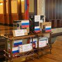 Союз ветеранов Кишинева получил компьютеры от Санкт-Петербурга