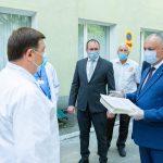 Лучшие врачи районной больницы Хынчешт были удостоены почетных дипломов президента (ФОТО, ВИДЕО)