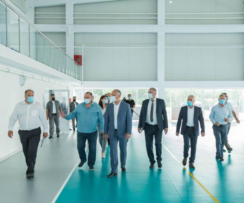 В селе Пэнэшешть вскоре откроется современный спортивный комплекс (ФОТО, ВИДЕО)