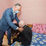 Президент наградил Орденом Республики единственного ветерана ВОВ в селе Гелэуза (ФОТО)