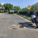 Мотоциклист погиб после столкновения с грузовиком (ФОТО)