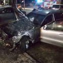 В Бельцах загорелась машина: обошлось без жертв (ФОТО)