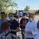 Пожар на свалке в Цынцэренах: ситуация под контролем властей (ФОТО, ВИДЕО)