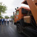 Президент проинспектировал ремонт дорог в Оницканах и Голерканах (ФОТО, ВИДЕО)