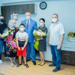 Президент помог обрести жилье семье погибшего в жутком ДТП таксиста (ФОТО, ВИДЕО)