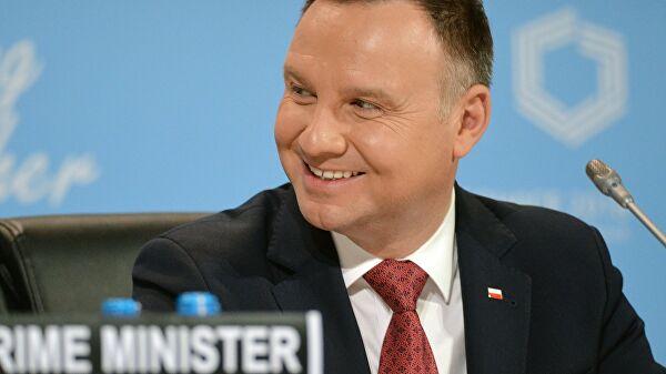 Игорь Додон поздравил Анджея Дуду с переизбранием на пост президента Польши