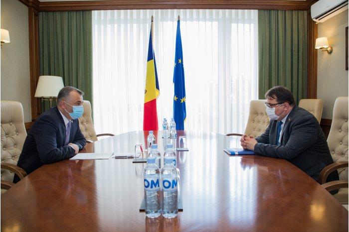 Премьер встретился с главой делегации ЕС в Молдове