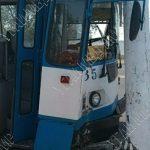 ДТП в Тирасполе: водитель троллейбуса влетел в столб