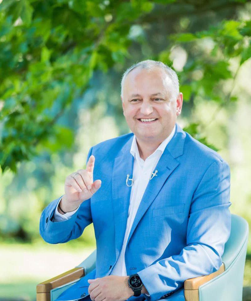 Игорь Додон остаётся безоговорочным фаворитом доверия граждан