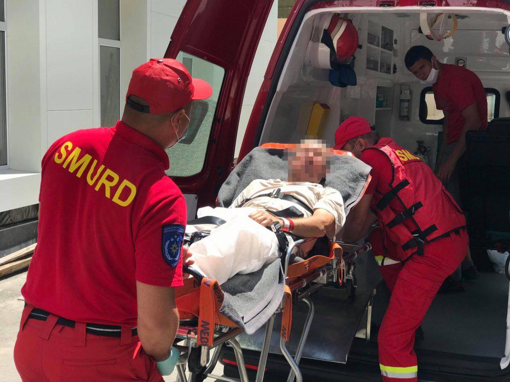 Пациента с инсультом доставили из Ясс в Кишинёв (ФОТО, ВИДЕО)