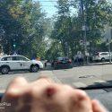 ДТП в центре столицы: машина врезалась в забор Национального музея этнографии