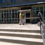 Прилегающая к библиотеке Ломоносова территория будет отремонтирована