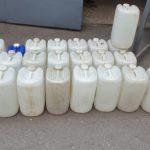 Полиция конфисковала около тонны контрафактного этилового спирта в ходе спецоперации в Бельцах