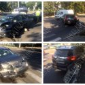 Снес опору со светофором: авария произошла в Тирасполе