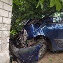 ДТП в Приднестровье: водитель не справился с управлением и врезался в забор