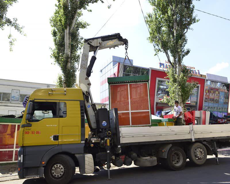 С Армянской эвакуируют 30 киосков. На их месте обустроят парковку