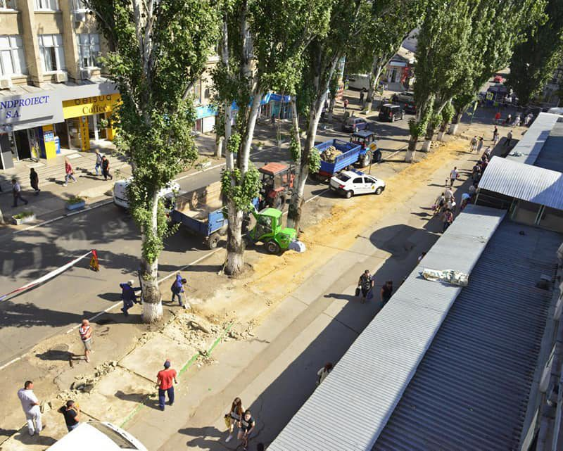 Чебан: С модернизацией Центрального рынка внешний вид центра города изменится к лучшему
