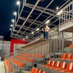 """Пляжный стадион в парке """"Ла извор"""" вскоре будет сдан в эксплуатацию"""