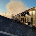 Сварочные работы привели к пожару на фабрике в Бендерах