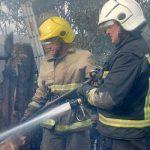 Детская шалость со спичками привела к пожару в селе Терновка