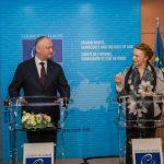 Президент пригласил генсека Совета Европы в Молдову