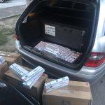 Предприимчивый молдаванин пытался провезти контрабанду сигарет в своей машине (ФОТО)