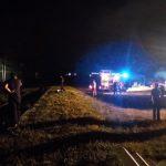 Загоревшийся локомотив потушили в Яловенском районе (ФОТО)