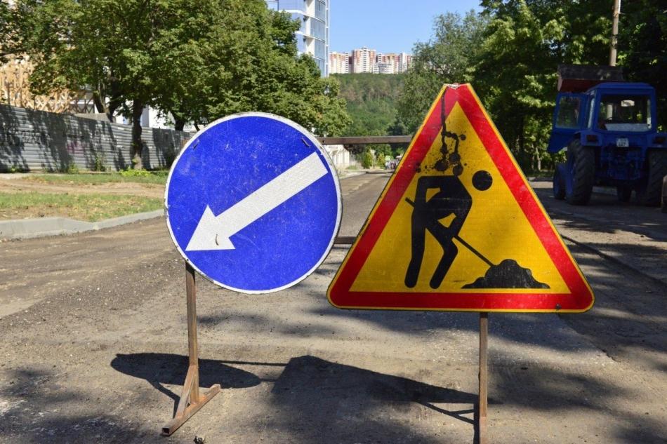 Дорожное движение на некоторых улицах столицы будет перекрыто на месяц