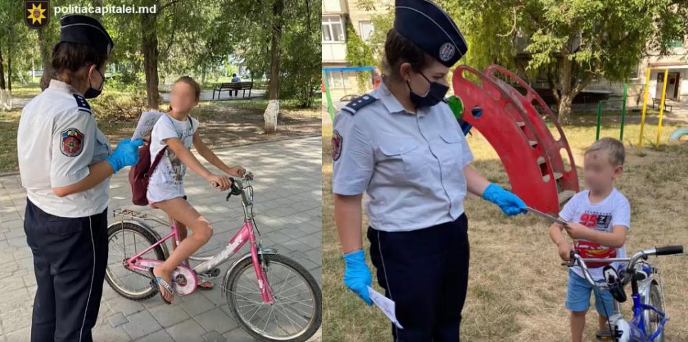 """Операция """"Забота"""" в столице: полиция напоминает о правилах безопасности для детей (ВИДЕО)"""