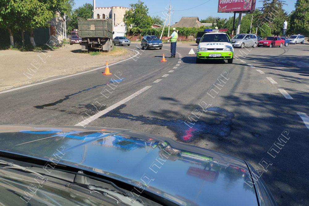 Попала под машину: женщина-пешеход получила тяжёлые травмы